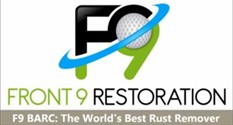 Front-9 rust remover and restoration