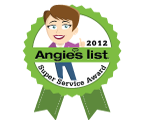 Angies List award seal