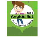 Angies List award seal