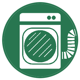 Dryer vent cleaning icon