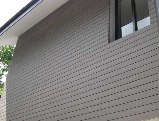 Clean Exterior Wall